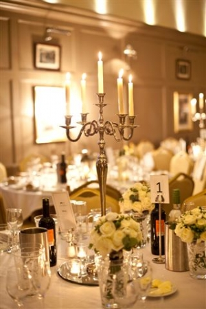 Hire Stunning Large Silver Candelabras (holds 5 candles)